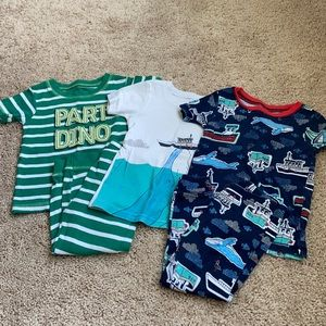 Carters baby pajama sets 18 months